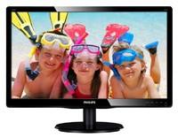 "Монитор Philips 21.5"" 226V4LSB (00/01) черный TN+film LED 5ms 16:9 DVI матовая 250cd 1920x1080 D-Sub FHD 3.34кг"