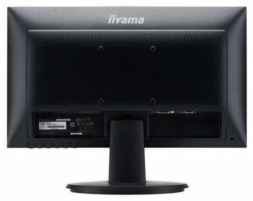 """Монитор Iiyama 19.5"""" E2083HSD-B1 черный TN+film LED 5ms 16:9 DVI M/M матовая 1000:1 250cd 170гр/160гр 1600x900 D-Sub 2.7кг"""