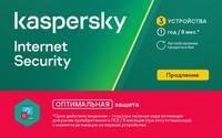 Программное Обеспечение Kaspersky KIS RU 3-Dvc 1Y Rnl Card (KL1939ROCFR)