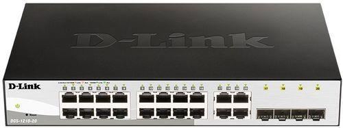 Коммутатор D-Link DGS-1210-20 DGS-1210-20/F1A 16G настраиваемый