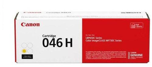 Тонер Картридж Canon 046 H Y 1251C002 желтый (5000стр.) для Canon i-SENSYS LBP650/MF730