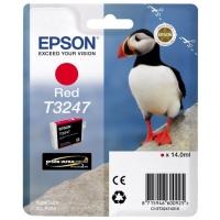 Картридж струйный Epson T3247 C13T32474010 красный (14мл) для Epson SureColor SC-P400