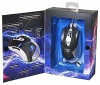 Мышь Oklick 875G ELECTRO черный/серебристый оптическая (2400dpi) USB игровая (5but)