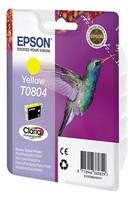 Картридж струйный Epson T0804 C13T08044011 желтый (7.4мл) для Epson P50/PX660