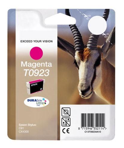 Картридж струйный Epson T0923 C13T10834A10 пурпурный (5.5мл) для Epson C91/CX4300