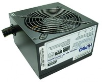 Блок питания Hipro ATX 500W HPC500W-Active 80+ bronze (24+4+4pin) APFC 120mm fan 4xSATA RTL