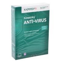 ПО Kaspersky Anti-Virus 2016 Russian Edition. 2-Desktop Base Box (KL1167RBBFS)