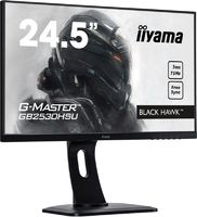 "Монитор Iiyama 24.5"" G-Master GB2530HSU-B1 черный TN LED 1ms 16:9 HDMI M/M матовая HAS Pivot 250cd 170гр/160гр 1920x1080 D-Sub DisplayPort FHD USB 5.2кг"