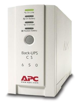 Источник бесперебойного питания APC Back-UPS BK650EI 400Вт 650ВА белый