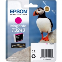 Картридж струйный Epson T3243 C13T32434010 пурпурный (14мл) для Epson SureColor SC-P400