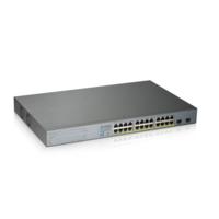 Коммутатор Zyxel GS1300-26HP-EU0101F 24G 2SFP 24PoE+ 250W неуправляемый