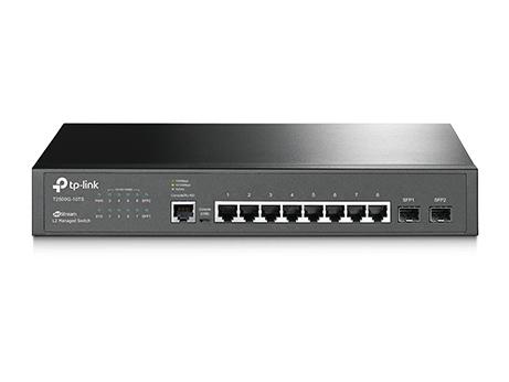 Коммутатор TP-Link T2500G-10TS 8G 2SFP управляемый