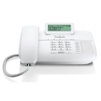 Телефон проводной Gigaset DA710 белый