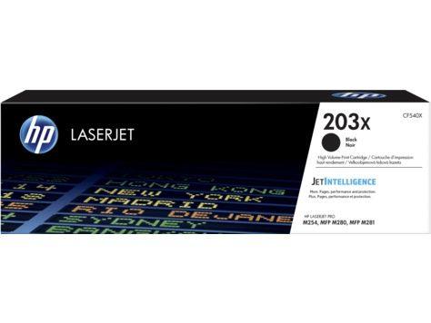 Тонер Картридж HP 203X CF540X черный (3200стр.) для HP M254/280/281