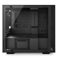 Корпус NZXT H200I черный без БП miniITX 3x120mm 2xUSB3.0 audio bott PSU