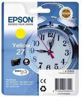Картридж струйный Epson T2702 C13T27044022 желтый (3.6мл) для Epson WF7110/7610/7620
