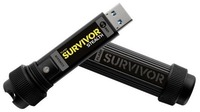 Флеш Диск Corsair 128Gb Survivor Stealth CMFSS3-128GB/CMFSS3B-128GB USB3.0 черный