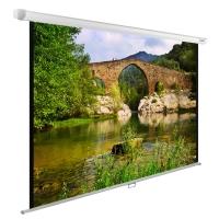 Экран Cactus 220x165см WallExpert CS-PSWE-220x165-WT 1:1 настенно-потолочный рулонный белый