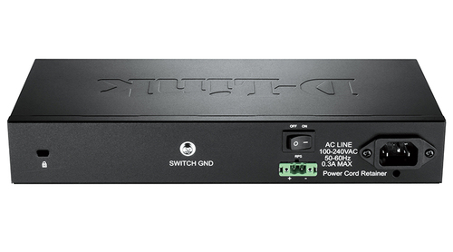 Коммутатор D-Link DGS-1210-10/ME DGS-1210-10/ME/A1A 8G 2SFP управляемый