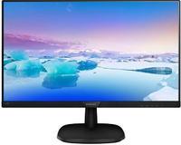 "Монитор Philips 21.5"" 223V7QDSB (00/01) черный IPS LED 16:9 DVI HDMI матовая 1000:1 250cd 178гр/178гр 1920x1080 D-Sub FHD 2.85кг"