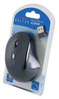 Мышь Oklick 435MW черный оптическая (1600dpi) беспроводная USB (3but)