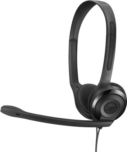 Наушники с микрофоном Sennheiser PC 5 CHAT черный 2м накладные оголовье (508328)