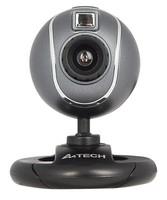 Камера Web A4 PK-750G серый USB2.0 с микрофоном