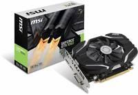 Видеокарта MSI PCI-E GeForce GTX 1050 2G OC nVidia GeForce GTX 1050 2048Mb 128bit GDDR5 1404/7008 DVIx1/HDMIx1/DPx1/HDCP Ret