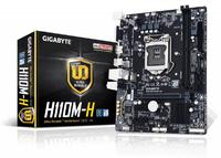 Материнская плата Gigabyte GA-H110M-H Soc-1151 Intel H110 2xDDR4 mATX AC`97 8ch(7.1) GbLAN+VGA+HDMI