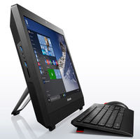 """Моноблок Lenovo S200z 19.5"""" HD+ Cel J3060 (1.6)/4Gb/500Gb 7.2k/HDG400/CR/Free DOS/GbitEth/WiFi/BT/клавиатура/мышь/Cam/черный 1600x900"""