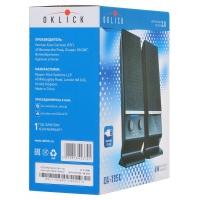 Колонки Oklick OK-115U 2.0 черный 6Вт