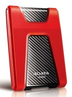 "Жесткий диск A-Data USB 3.0 1Tb AHD650-1TU3-CRD DashDrive Durable 2.5"" красный"