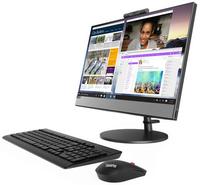 "Моноблок Lenovo V530-22ICB 21.5"" Full HD i3 8100T (3.1)/8Gb/1Tb 5.4k/UHDG 630/DVDRW/CR/Windows 10 Professional 64/GbitEth/WiFi/BT/90W/клавиатура/мышь/Cam/черный 1920x1080"