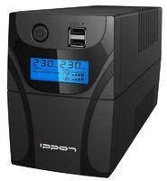 Источник бесперебойного питания Ippon Back Power Pro II 600 360Вт 600ВА черный
