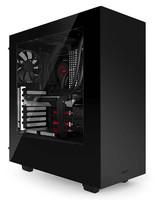 Корпус NZXT S340 черный/красный без БП ATX 3x120mm 3x140mm 2xUSB3.0 audio bott PSU