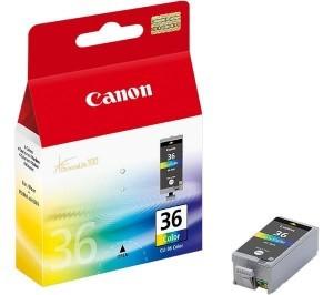 Картридж струйный Canon CLI-36 1511B001 многоцветный для Canon Pixma 260mini