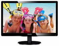 "Монитор Philips 19.5"" 200V4QSBR (00/01) черный VA LED 20ms 16:9 DVI матовая 250cd 1920x1080 D-Sub FHD 2.71кг"