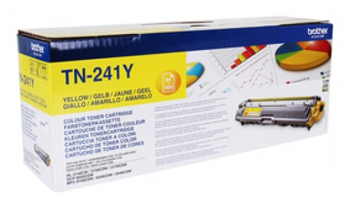 Картридж лазерный Brother TN241Y желтый (1400стр.) для Brother HL3140/3150/3170/DCP9020/MFC9140/9330/9340