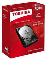 """Жесткий диск Toshiba SATA-II 500Gb HDWJ105EZSTA L200 (5400rpm) 8Mb 2.5"""" Rtl"""