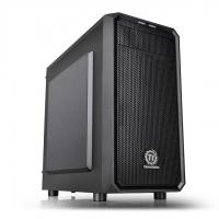 Корпус Thermaltake Versa H15 черный без БП mATX 4x120mm 1xUSB2.0 1xUSB3.0 audio bott PSU