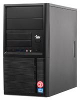 ПК IRU Office 110 MT Cel J1800 (2.41)/4Gb/500Gb 7.2k/HDG/Free DOS/GbitEth/400W/черный