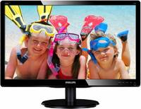 "Монитор Philips 19.5"" 200V4LAB2 (00/01) черный TN LED 5ms 16:9 DVI M/M матовая 600:1 200cd 1600x900 D-Sub HD READY 2.72кг"
