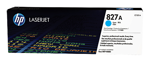 Тонер Картридж HP 827A CF301A голубой для HP CLJ Ent M880