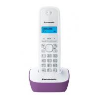 Р/Телефон Dect Panasonic KX-TG1611RUF фиолетовый/белый АОН