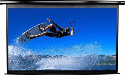 Экран Elite Screens 105x186см Spectrum Electric84H 16:9 настенно-потолочный рулонный черный (моторизованный привод)