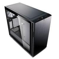 Корпус Fractal Design Define R6 TG черный без БП ATX 2xUSB2.0 2xUSB3.0 audio front door bott PSU