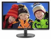 """Монитор Philips 20.7"""" 216V6LSB2 (10/62) черный TN LED 5ms 16:9 матовая 600:1 200cd 1920x1080 D-Sub FHD 2.11кг"""