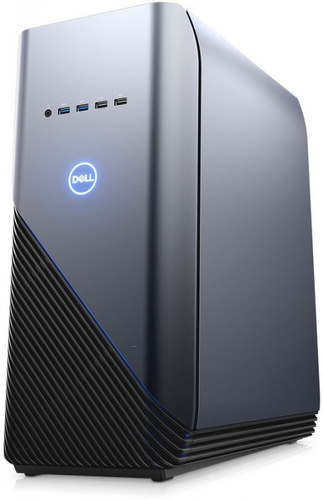 ПК Dell Inspiron 5680 MT i7 8700 (3.2)/8Gb/1Tb 7.2k/SSD128Gb/GTX1060 6Gb/DVDRW/Windows 10 Home 64/GbitEth/WiFi/460W/клавиатура/мышь/серебристый/черный