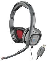 Наушники с микрофоном Plantronics A655 черный/серый 2м накладные оголовье (80935-15)