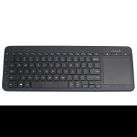 Клавиатура Microsoft All-in-One Media черный USB беспроводная Multimedia Touch